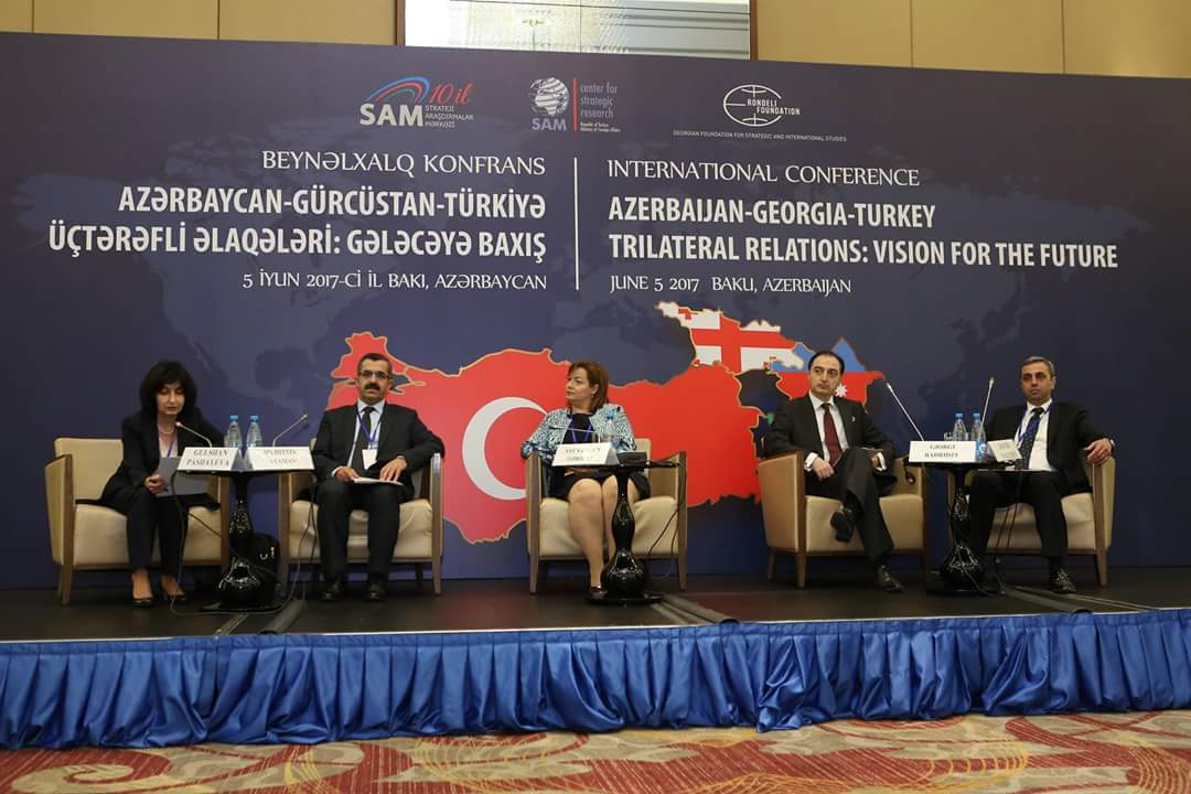 "ULUSLARARASI KONFERANS: ""Azerbaijan-Georgia- Turkey Trilateral relations: Vision for the Future"""